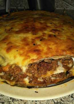 Beef mince stack