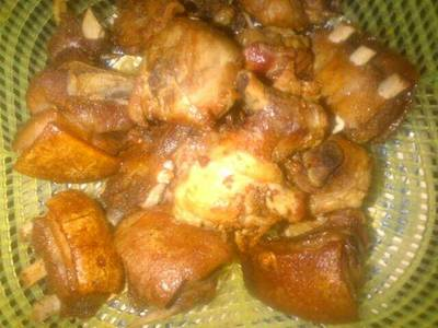 Fried Goat Meat
