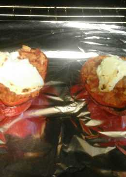 Stuffed Pepper with Goats Cheese