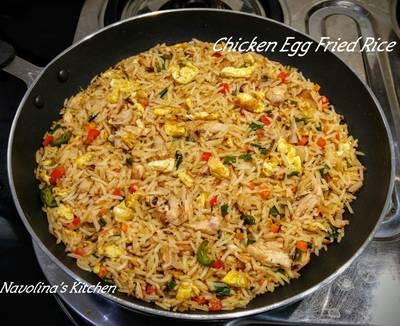 Chicken Egg Fried Rice