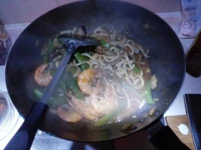 亚风面 Prawn noodles