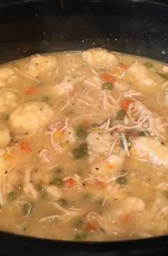 resep masakan chicken and dumpling soup