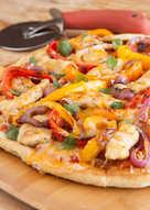 Grilled Chicken Fajita Pizza