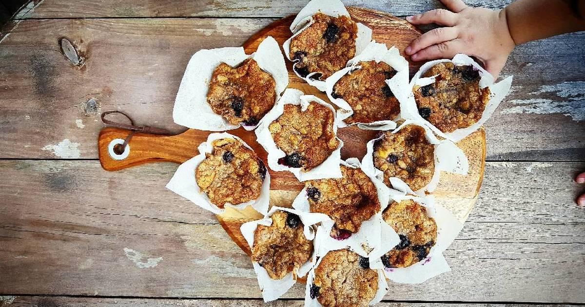 Banana blueberry muffins recipes - 10 recipes