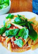 Tuna and Tomato Pasta with Basils