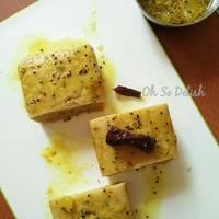 Bengali style mango chutney cake