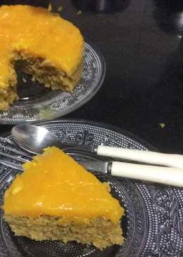 Quinoa Mango eggless cake