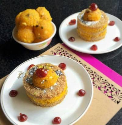 Kharek, Khuskhus and Boondi cake