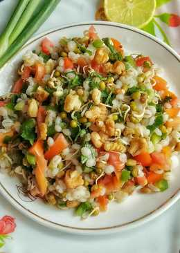 Sprouts and Barley Salad