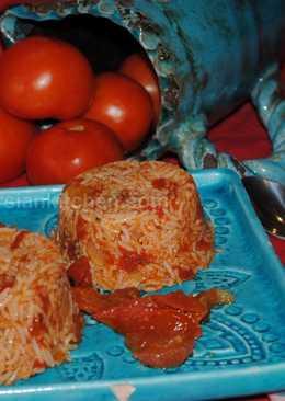 Persian tomato rice (Dami-e Gojeh Farangi)