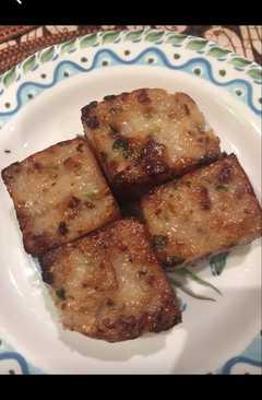 resep masakan chinese turnip cake lo bak go