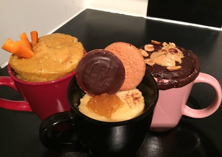 Mug cake (pineapple sponge)