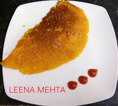 Rice flour masala puda