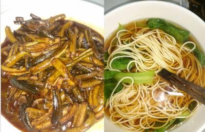 Eel noodle