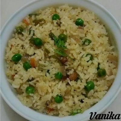 Vegetable rice..