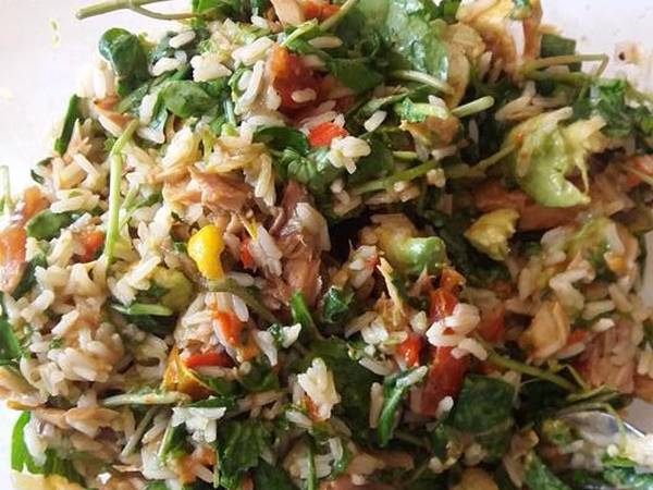Chopped Rice/Fish Salad