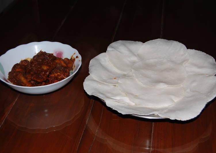 Pathiri - Rice Bread