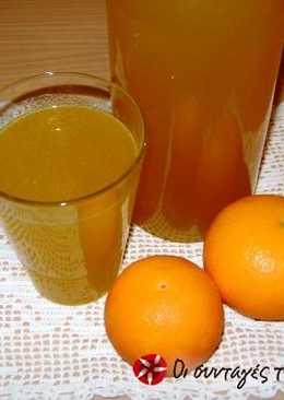 Orange juice.... from oranges