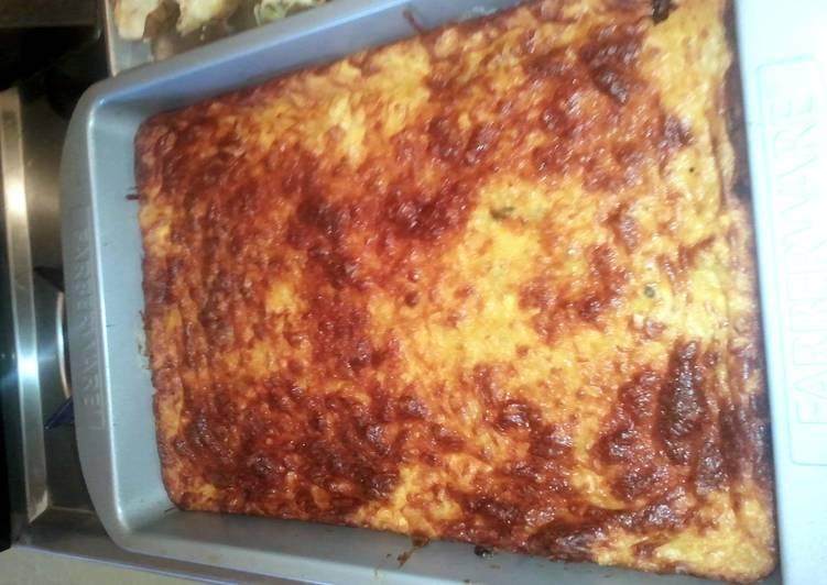 Green Chili Cornbread Casserole Recipe By Klane Cookpad
