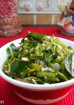 Amara Uppiyeri (Lablab purpures fry)