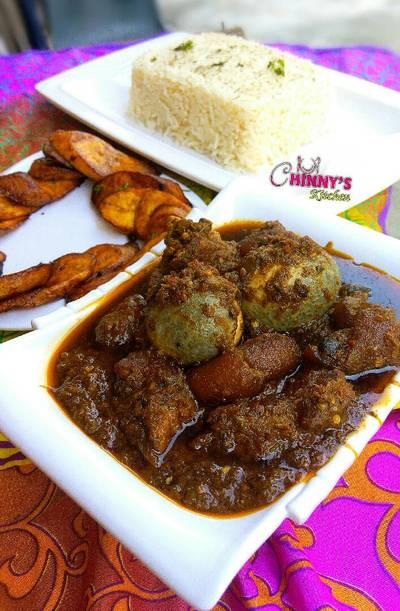Nigeria designer stew(Ayamashe)