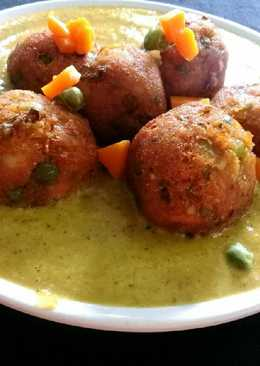 Vegetable (mix) kofta curry..