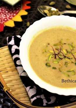 Nolen Gurer Payesh (Date Palm Jaggery Rice Kheer / Pudding)