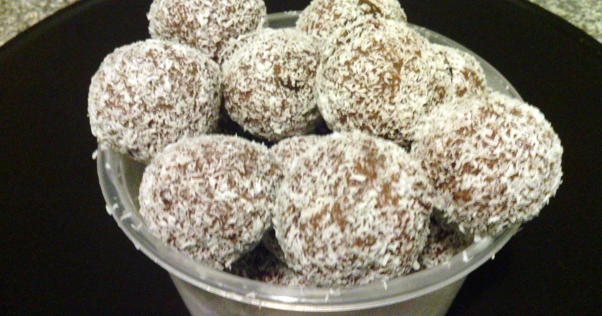 how to make rum balls with arrowroot biscuits