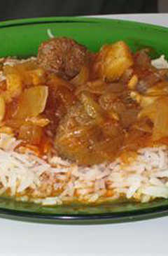 resep masakan meatballs and onions in tomato sauce daoud basha