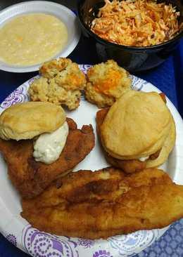 resep masakan fish biscuits american biscuits
