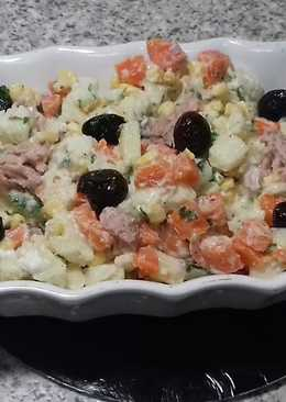 How to make Potato Carrot Salad Recipe