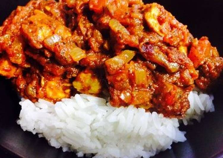Aromatic Coriander Chicken Curry