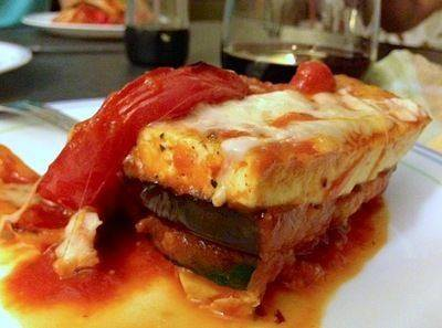 Towering Tofu Lasagna with Eggplant and Zucchini