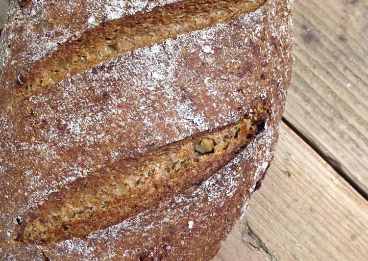 German Sourdough Rye Bread (Roggenmischbrot) Recipe by ...