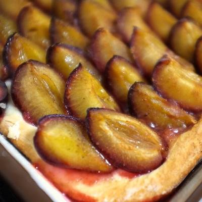 Pflaumenkuchen: German Plum Cake