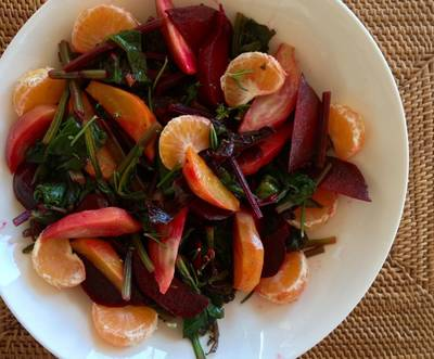Beet Salad with Orange Vinaigrette