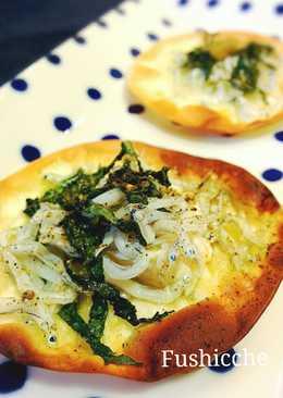 Easy! Shirasu Pizza Chips