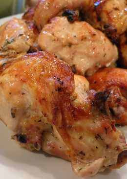 Simple, Easy, Delicious Lemon Garlic Roast Chicken
