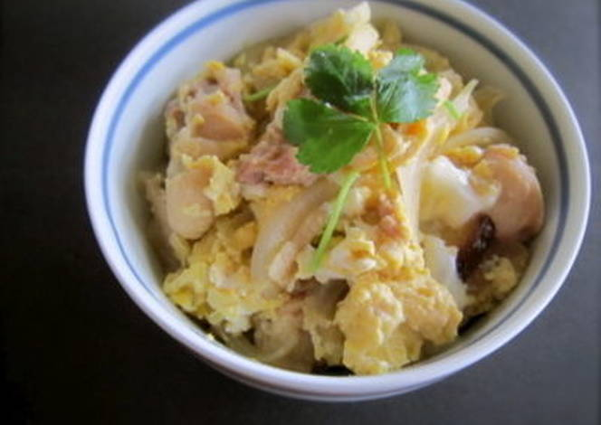 ... oyakodon chicken and egg rice bowl oyakodon japanese chicken and egg