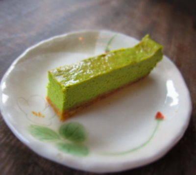 Green Tea Cheesecake Bars