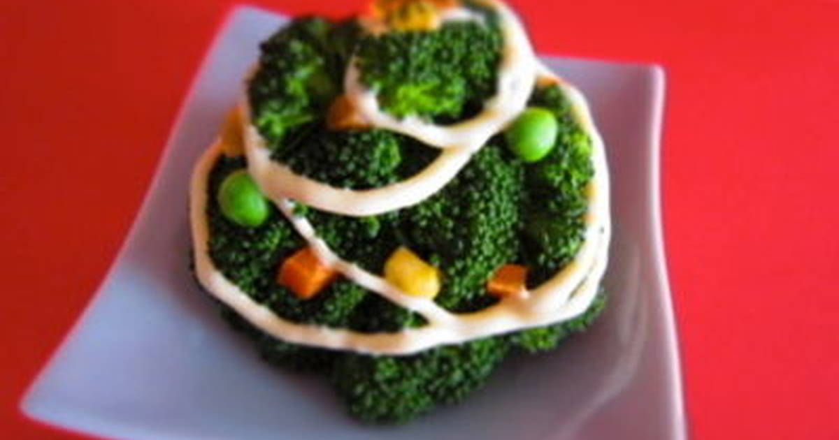 Veggie Christmas Tree Recipes