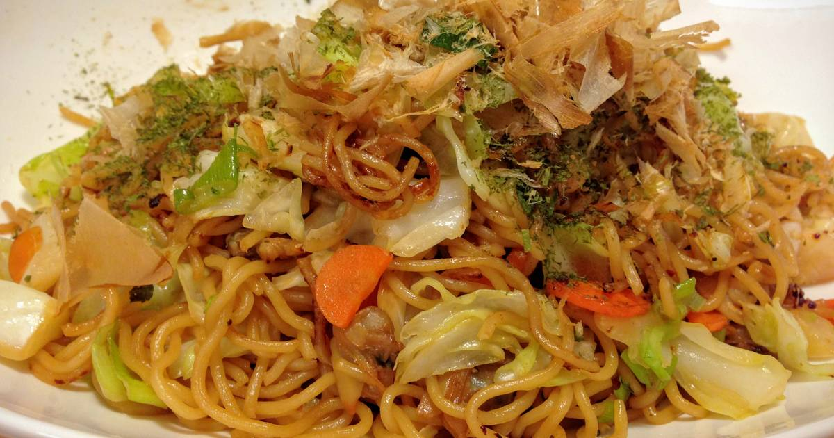 Yakisoba (Fried Noodles) Recipe by Rie - Cookpad