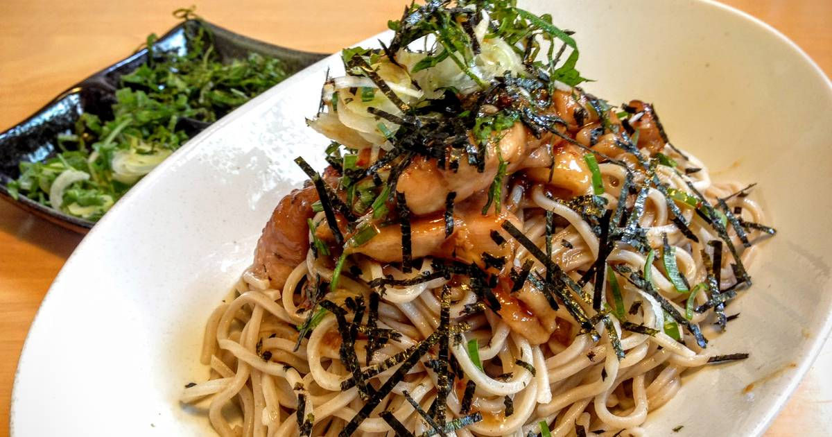 Chicken Teriyaki With Soba Noodles Recipe — Dishmaps