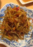 Kimpira (Burdock root & Carrot)