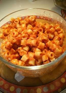 Spaghetti-No's (Homemade Spaghetti-O's)