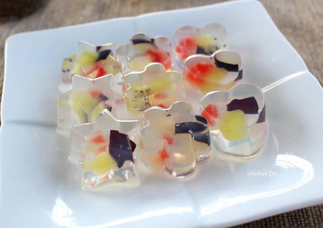 jelly isi buah segar