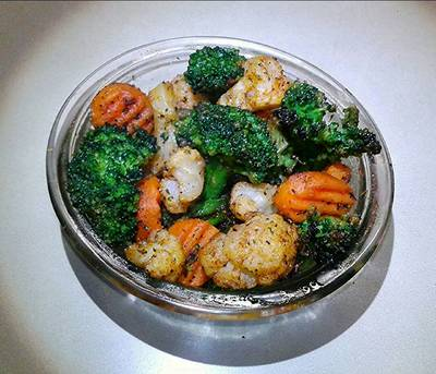 Roasted Vegetables with KA Season