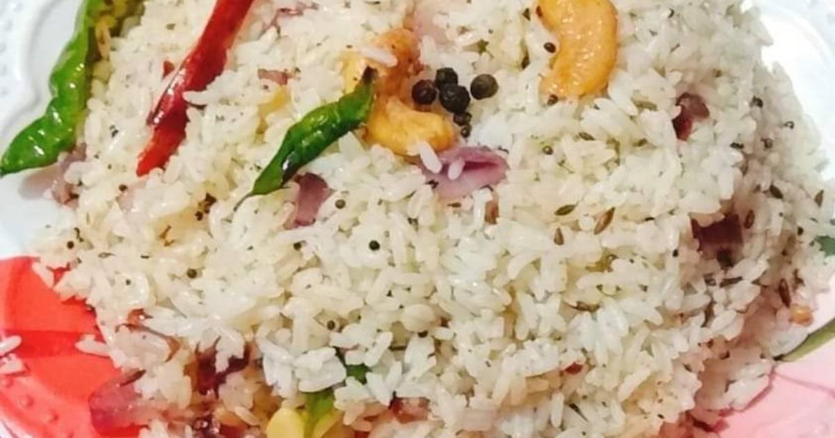 Ghee pepper rice
