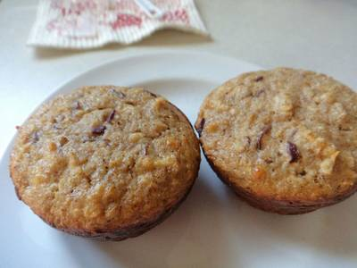 Apple Cinnamon Protein Muffin
