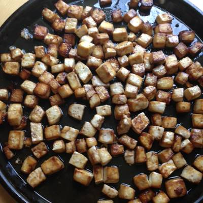 Sweet-Savory Glazed Tofu